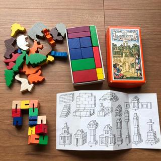 輸入 木製知育おもちゃ(積み木/ブロック)