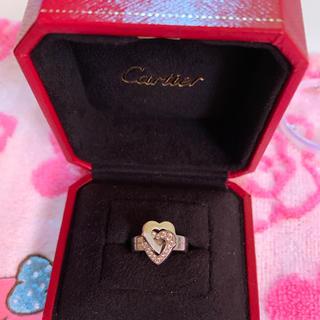 カルティエ(Cartier)のカルティエ 2ハート リング(リング(指輪))