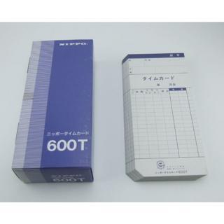 ニッポー タイムカード NTR-2500、2700用 600T(フリー)(その他)