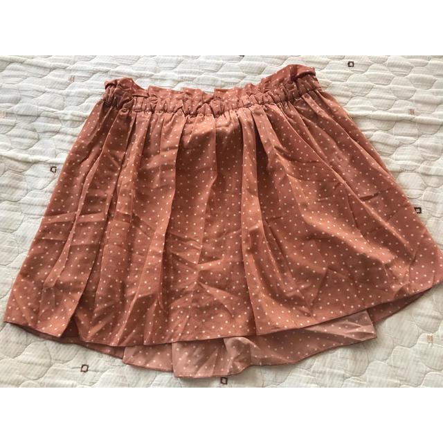 LOWRYS FARM(ローリーズファーム)のLOWRYSFARM ドット柄スカート レディースのスカート(ミニスカート)の商品写真