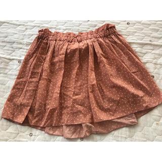 ローリーズファーム(LOWRYS FARM)のLOWRYSFARM ドット柄スカート(ミニスカート)