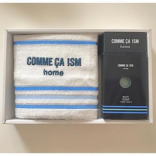 コムサイズム(COMME CA ISM)の♡COMME CA ISM home タオル ソープ ギフトセット♡(タオル/バス用品)