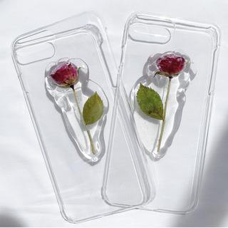 薔薇のiPhone case 【iPhone7.8plus】(スマホケース)