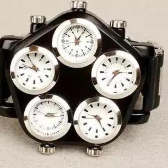 ビッグダイヤル海外ブランド 日本未発売 メンズ 高級 腕時計の通販 by shop BON's shop|ラクマ