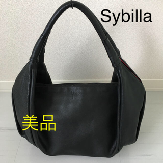 シビラ(Sybilla)のSybilla シビラ レザーバッグ ショルダーバッグ ハンドバッグ 美品(ショルダーバッグ)