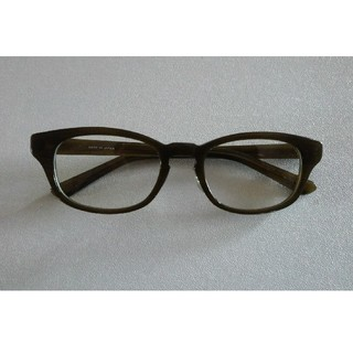 ベルメゾン(ベルメゾン)の鯖江めがね 鯖江サングラス 日本製 ベルメゾン 眼鏡 カーキ UVカット  (サングラス/メガネ)