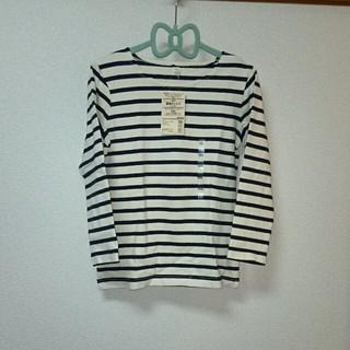ムジルシリョウヒン(MUJI (無印良品))の新品☆無印良品ボーダーTシャツ120cm(Tシャツ/カットソー)