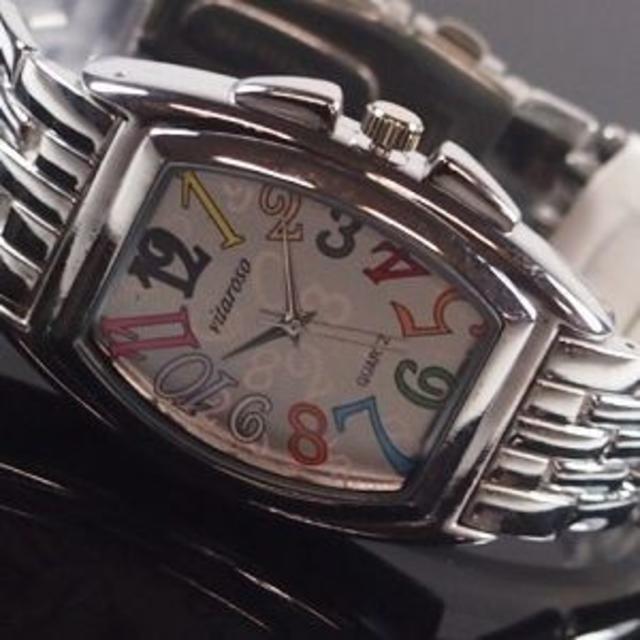 フランクミュラー 時計 amazon - メンズ腕時計 メタルウォッチクロノデザイン白マルチVT5000M ws_002の通販 by まゆみ's shop|ラクマ