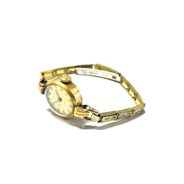 18金 DEN-RO アンティーク腕時計 18K ゴールド刻印の通販 by TATE's shop|ラクマ
