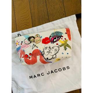 マークジェイコブス(MARC JACOBS)の新品タグ付きMark Jacobsキャンバスポーチ(ポーチ)