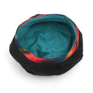 チチカカ(titicaca)のチチカカベレー帽🤠ブラック(ハンチング/ベレー帽)
