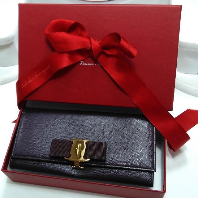 Ferragamo - fin様専用正規Salvatore Ferragamoヴァラ長財布の通販 by ゆうショップ|フェラガモならラクマ
