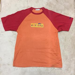 BAY HILL 切り替えTシャツ メンズM(Tシャツ/カットソー(半袖/袖なし))