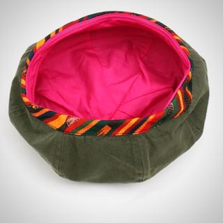 チチカカ(titicaca)のチチカカベレー帽🤠カーキ(ハンチング/ベレー帽)