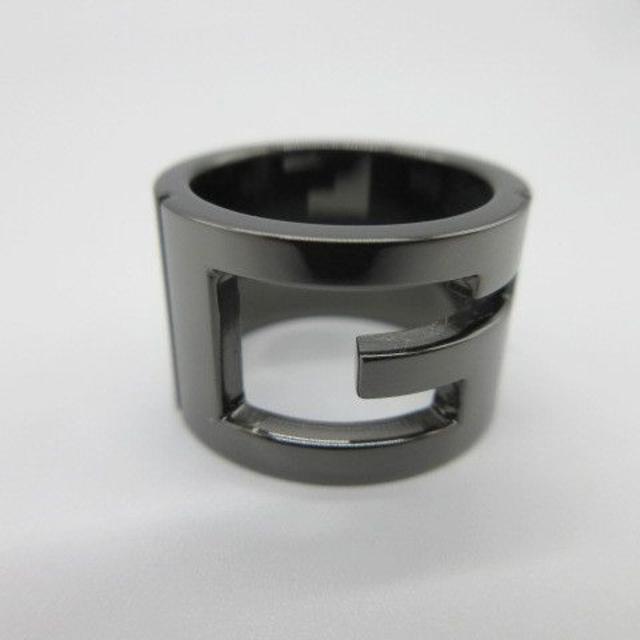 Gucci(グッチ)の177/美品 GUCCI/グッチ カットアウトG リング SV925 レディースのアクセサリー(リング(指輪))の商品写真