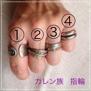 カレン族のシルバーリング(リング(指輪))