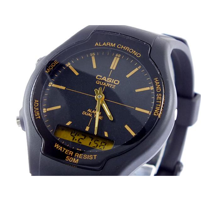 CASIO - カシオ CASIO スタンダード アナデジ 腕時計の通販 by ちゅなSHOP|カシオならラクマ