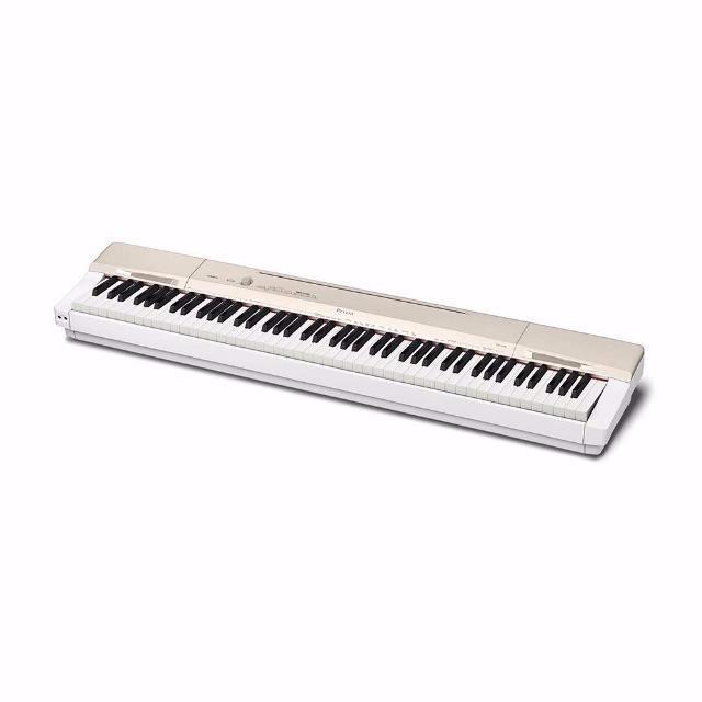 CASIO(カシオ)の(カシオ) 88鍵盤 電子ピアノ Privia PX-160GD シャンパンゴー 楽器の鍵盤楽器(電子ピアノ)の商品写真