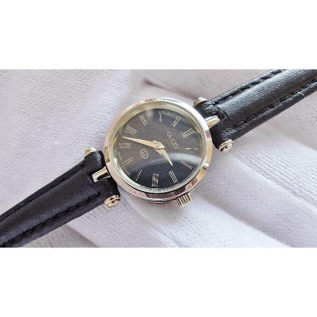 シャネル 時計 最新 - Gucci - GUCCI グッチ 女性用 クオーツ腕時計 電池新品 B2196の通販 by hana|グッチならラクマ