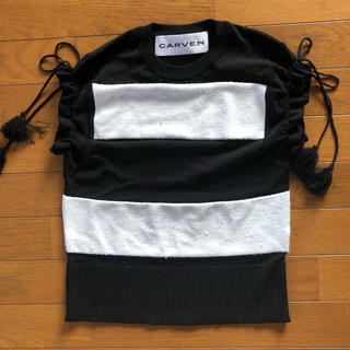 カルヴェン(CARVEN)のレディスブランドトップス(カットソー(半袖/袖なし))