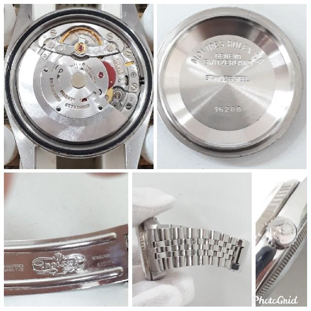 new product 16115 dbbda ROLEX 16234 ロレックス WG cal.3135