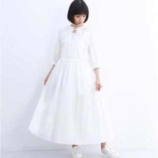 メルロー(merlot)のみぃさん専用♡メルロー  リボンタイ襟 ワンピース(ロングワンピース/マキシワンピース)