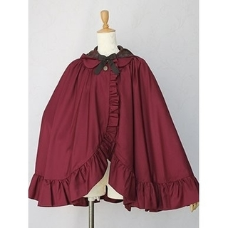 ヴィクトリアンメイデン(Victorian maiden)の【新品】victorian maiden ノーブルリボンマント(その他)