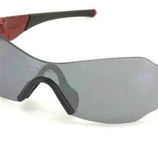オークリー(Oakley)の【美品】OAKLEY オークリー ZERO ゼロ レッド×ブラック 正規品(サングラス/メガネ)