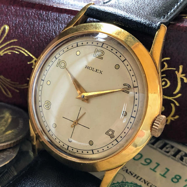 時計 偽物 2ch - ROLEX - 【王道・一点限り】希少 ★ ROLEX ★ ロレックス 14KGP 手巻き腕時計の通販 by A.LUNA        |ロレックスならラクマ