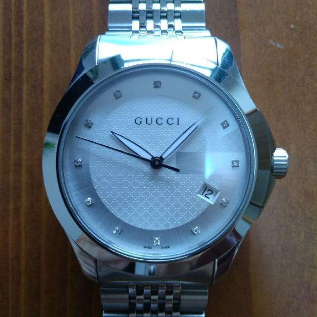 Gucci - 《交渉歓迎》グッチ Gタイムレス 12Pダイヤモンド クォーツ GUCCIの通販 by ttrancejp's shop|グッチならラクマ