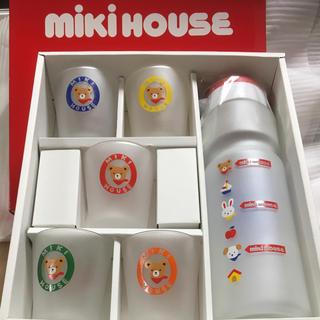 ミキハウス(mikihouse)のミキハウス タンブラーとガラスコップ5個のセット(グラス/カップ)