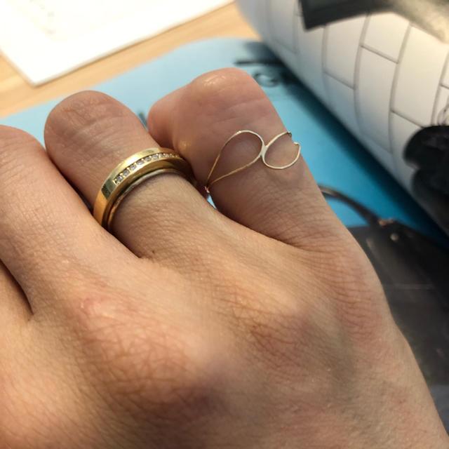 AGATHA(アガタ)の華奢ring💍 10k✨ 最終値下げ レディースのアクセサリー(リング(指輪))の商品写真