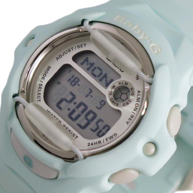 ウブロ 時計 50万 / Baby-G - CASIO ベビーG 腕時計 レディース クォーツ シルバー パステルグリーンの通販 by ちゅなSHOP|ベビージーならラクマ