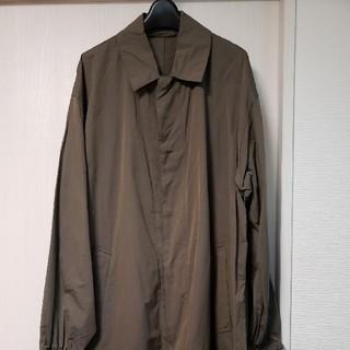 コモリ(COMOLI)の18ss auralee シルクビッグステンカラーコート 4(ステンカラーコート)