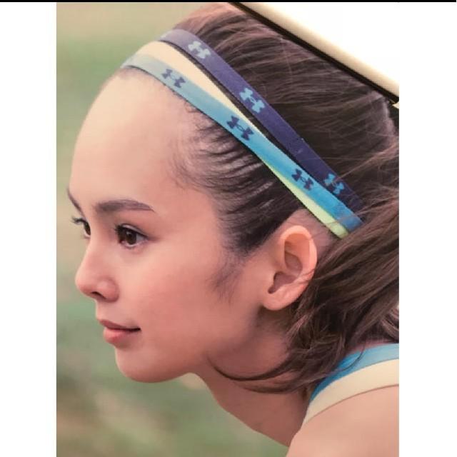 UNDER ARMOUR(アンダーアーマー)の☆UNDER ARMOUR☆アンダーアーマー☆ヘアバンド☆ヘッドバンド☆髪止め☆ レディースのヘアアクセサリー(ヘアバンド)の商品写真
