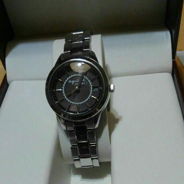 agnes b. - アニエスbソーラー充電腕時計の通販 by ままばば's shop|アニエスベーならラクマ