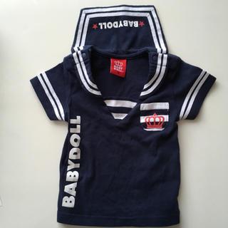 ベビードール(BABYDOLL)のBABYDOLL マリンルック ベビードール 半袖 70(Tシャツ)