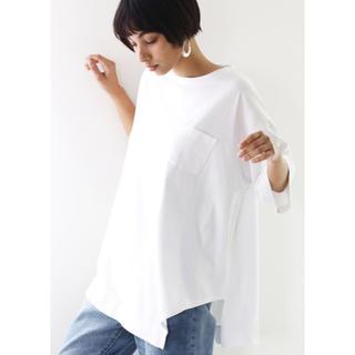 再値下げ!シンメトリービッグシルエットTシャツ(半袖)(Tシャツ/カットソー(半袖/袖なし))