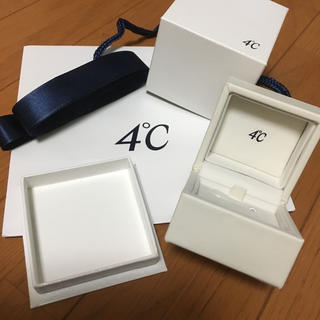ヨンドシー(4℃)の4°C ジュエリーボックス (小物入れ)