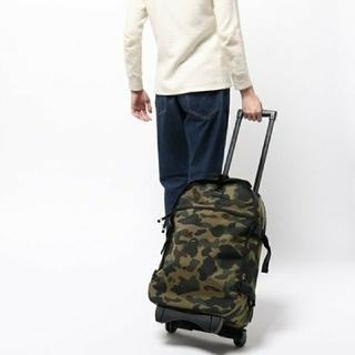 アベイシングエイプ(A BATHING APE)のBAPE 1ST CAMO TRAVEL LUGGAGE (CORDURA)(トラベルバッグ/スーツケース)