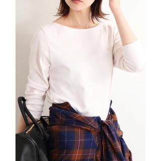 イエナ(IENA)のIENA AURALEE ボートネックTシャツ カットソー(Tシャツ(長袖/七分))
