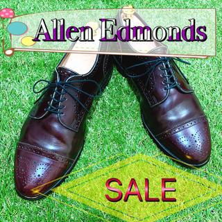 アレンエドモンズ(Allen Edmonds)の【SALE】Allen Edmonds アレンエドモンズ ストレート メダリオン(ドレス/ビジネス)