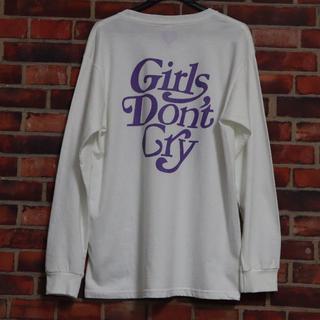 ジーディーシー(GDC)の即日発送! Girls Don't Cry ロンT Lサイズ 紫(Tシャツ/カットソー(七分/長袖))