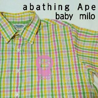 アベイシングエイプ(A BATHING APE)のape エイプ メンズ 半袖シャツ(シャツ)