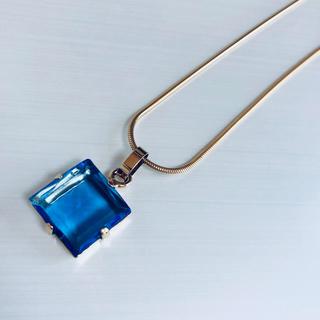 アガタ(AGATHA)のAgatha アガタ ブルーストーンのネックレス(ネックレス)