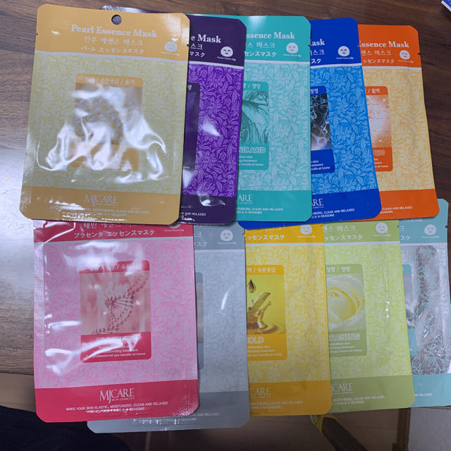 韓国 エッセンスマスクの通販