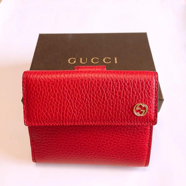 Gucci - GUCCI グッチ ブランド 財布 二つ折り財布 美品 中古品の通販 by Y|グッチならラクマ