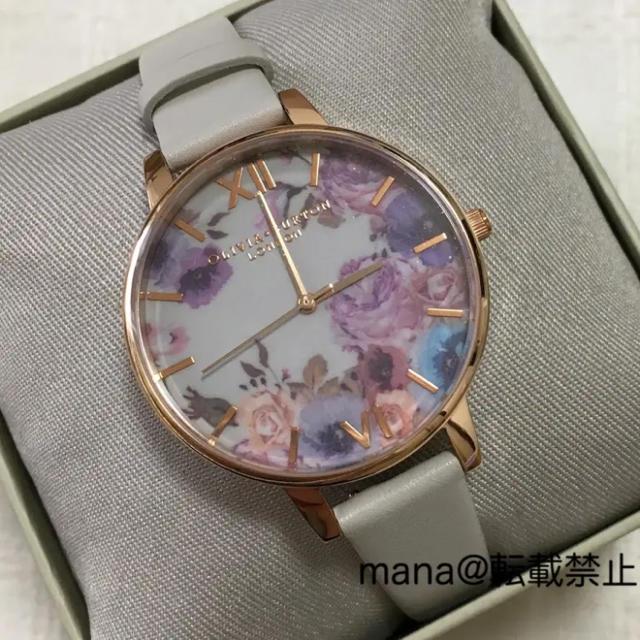 ラクマ 時計 偽物 / 新品 オリビア・バートン 腕時計 OLIVIA BURTON OB16VE07の通販 by mana's shop|ラクマ