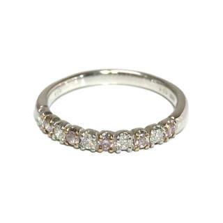 プラチナ PT ピンクダイヤ ピンクダイヤモンド リング 指輪 エタニティ(リング(指輪))
