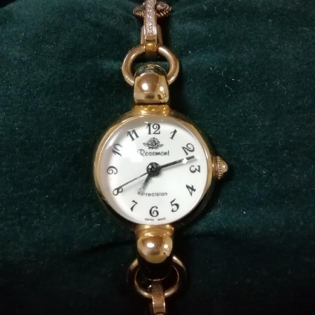 綺麗め。スイス人気ブランド。Rosemont クライミングローズ 腕時計の通販 by aday's|ラクマ
